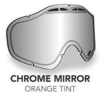 Chrome Mirror/Orange Tint Sinister X5 Lens