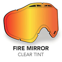Fire Mirror/Clear Tint Sinister X5 Lens
