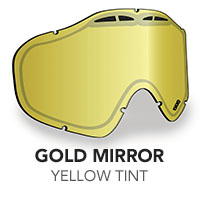 Gold Mirror/Yellow Tint Sinister X5 Lens