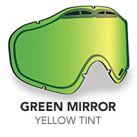 Green Mirror/Rose Tint Sinister X5 Lens
