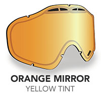 Orange Mirror/Orange Tint Sinister X5 Lens