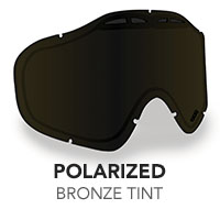 Polarized Bronze Tint Sinister X5 Lens