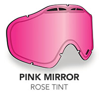 Pink Mirror/Rose Tint Sinister X5 Lens