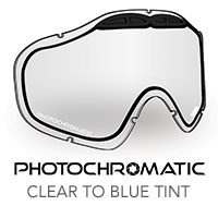 Photochromatic Clear to Blue Tint Sinister X5 Lens