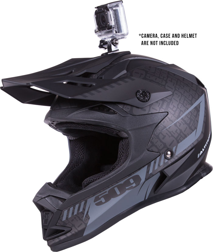 Universal Helmet Camera Mount (Compatible with GoPro's Hero® cameras)
