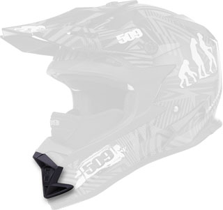 Gloss Black Replacement Mouth Vent for Altitude Helmets