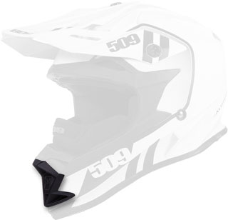 Matte Black Replacement Mouth Vent for Altitude Helmets