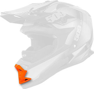 Orange Replacement Mouth Vent for Altitude Helmets