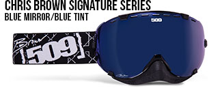 Chris Brown Signature Series Aviator Snow Goggle