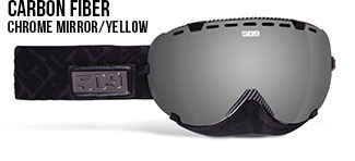 Carbon Fiber Aviator Snow Goggle