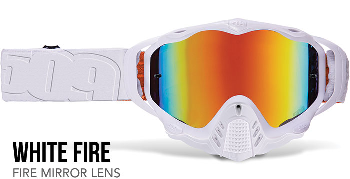 White Fire Sinister MX-5 Offroad Goggle