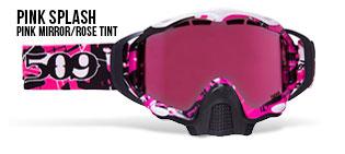 Pink Splash Sinister X5 Snow Goggle