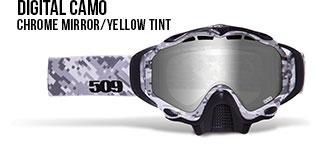 Digital Camo Sinister X5 Snow Goggle