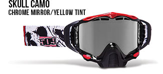 Skull Camo Sinister X5 Snow Goggle