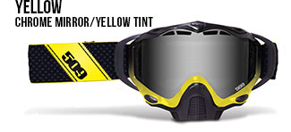 Yellow Sinister X5 Snow Goggle