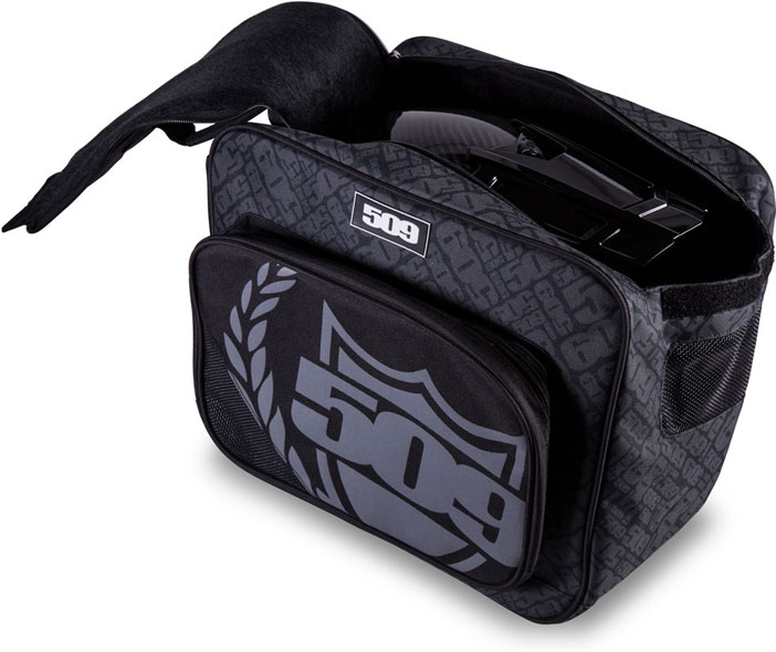 509 Helmet Bag - Open